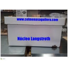 núcleos de cartón Langstroth