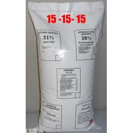 Abono mineral 15-15-15  25 kilos