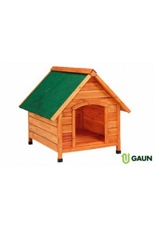 Caseta madera techo 2 aguas. Grande