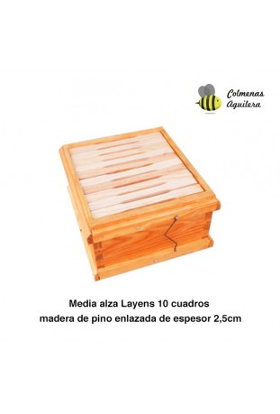 Media alza Layens 10 cuadros enlazada
