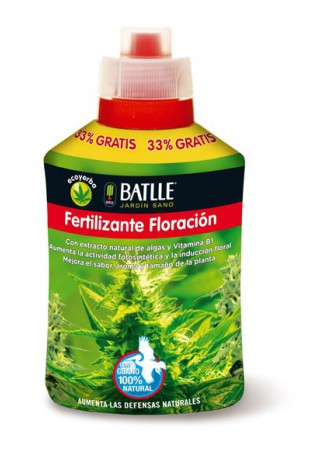 Fertilizante Ecoyerba Floración 400ml